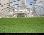 Jay Pritzker Pavilion, Great Lawn, April 23, 2004